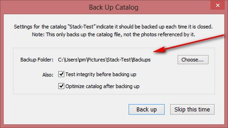 Data backup Windows and Lightroom (Part II)
