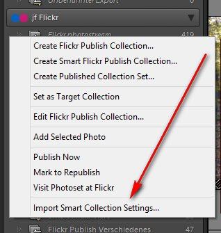 The flickr plugin for Lightroom
