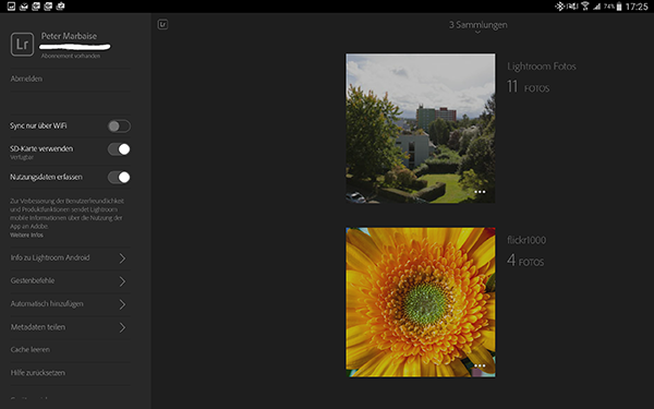 Lightroom Mobile 1.4 now freely available