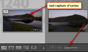 Timelapse video with Lightroom