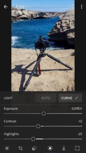 Lightroom Mobile 3.0 changes in design only