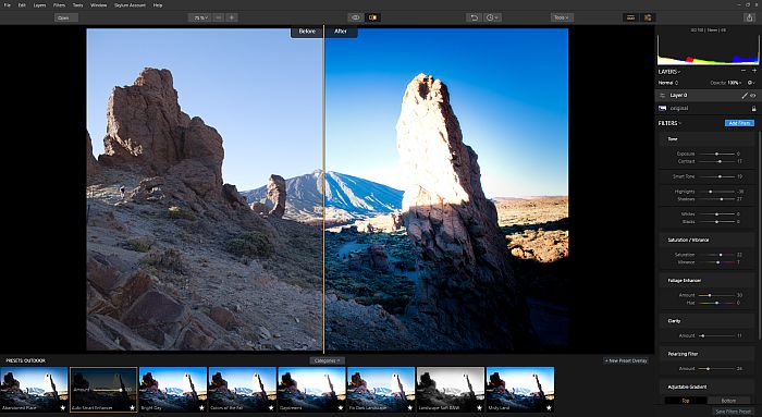 Luminar 2018 as a Lightroom alternative