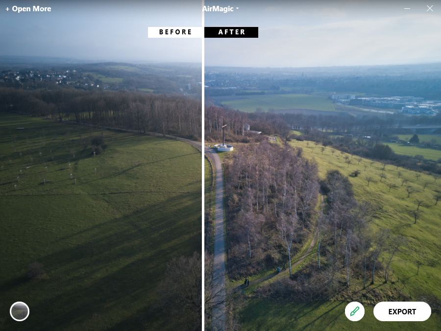 AirMagic for drone photography