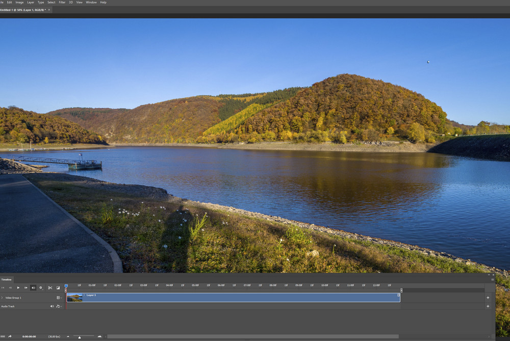 Processing a timelapse video