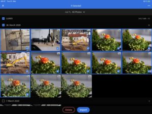 Lightroom CC and the iPad Air